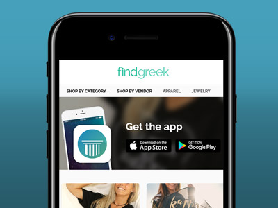Find Greek App