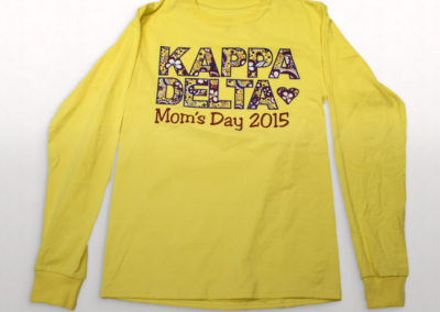 Kapp Delta Mothers Day Long Sleeve