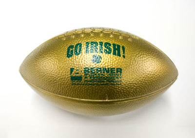 go-irish-promo-plastic-football
