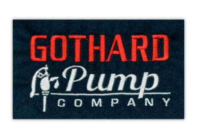 gothard-pump-company-embroidered-logo